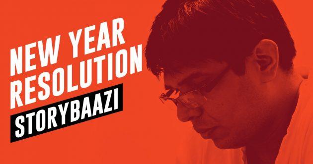 storybaazi - new year resolution